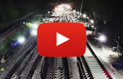 Video of Linklites being used by Network Rail, Bam Nuttall, SPL and more.